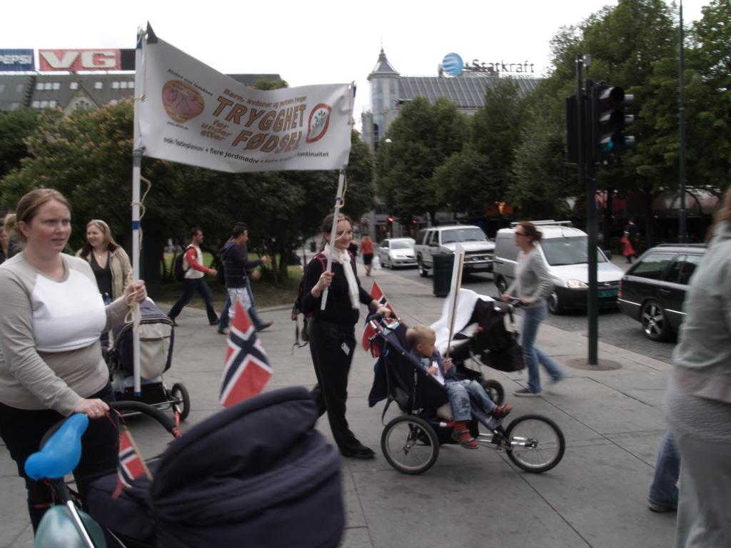 Bilde fra demonstrasjon